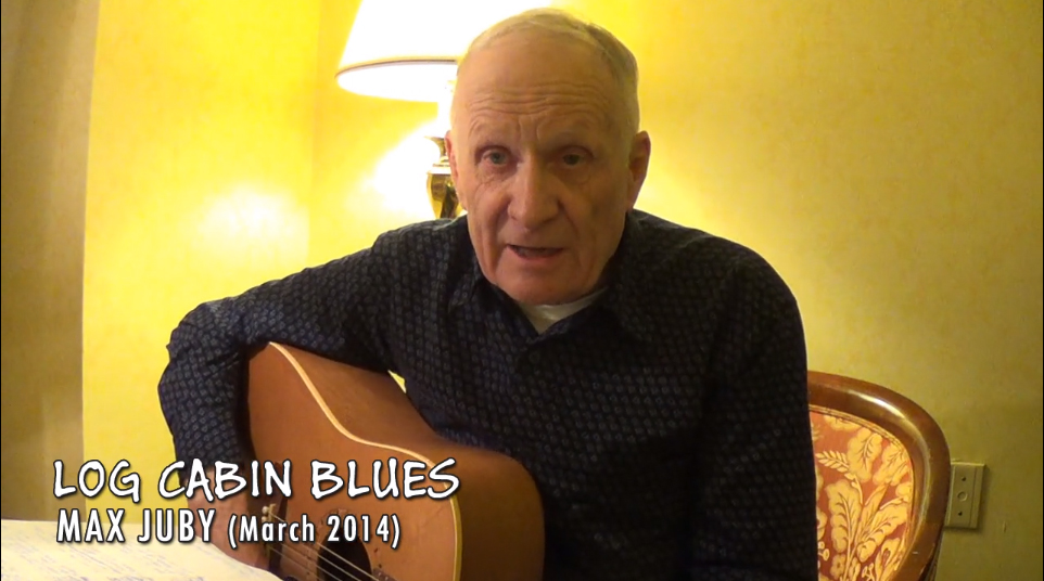 Max Juby - singing Log Cabin Blues (on Vimeo)